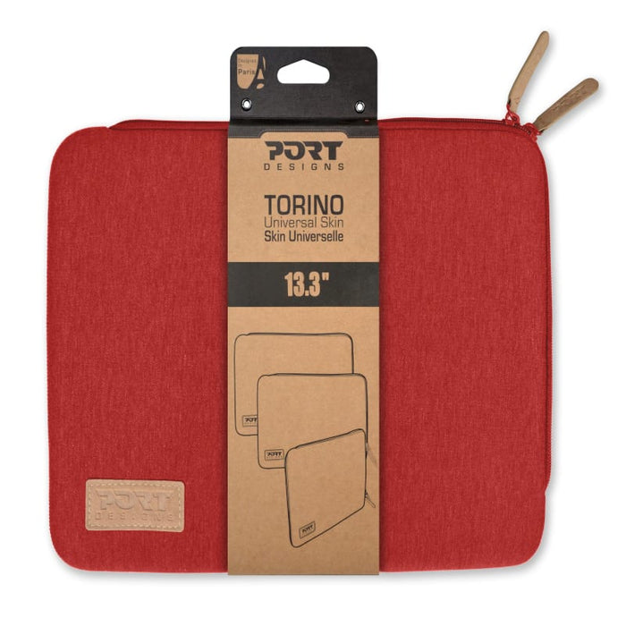 Port Designs TORINO 13.3 Notebook Sleeve Red