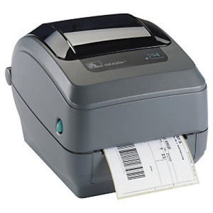 ZEBRA GK420 DIRECT THERMAL PRINTER USB/SERIAL 200 DPI EU AND UK CORDS