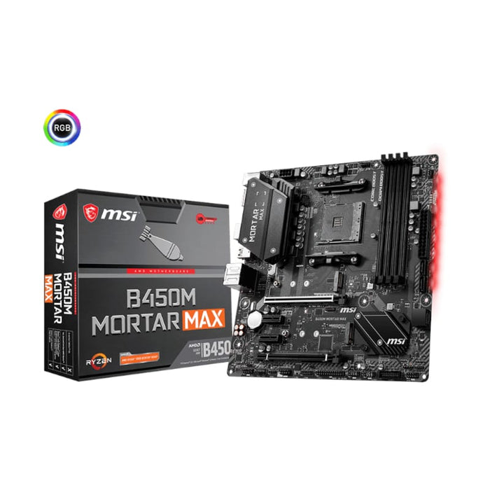 MSI AMD B450M 4XDDR4 2XM.2 NVME ML