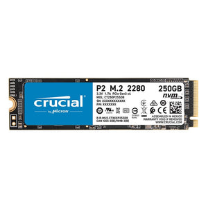 Crucial P2 250GB 3D PCIE NVME M.2 SSD