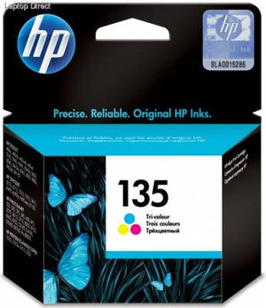 HP No135 Tri Colour Ink Cartrudge (7ml)(330pgs)