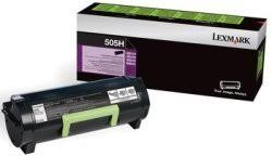 Lexmark 505H Black High Yield Return Program Toner Cartridge