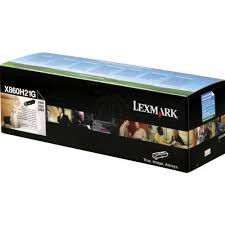 Lexmark X860H21G High Yield Black Laser Toner Cartridge