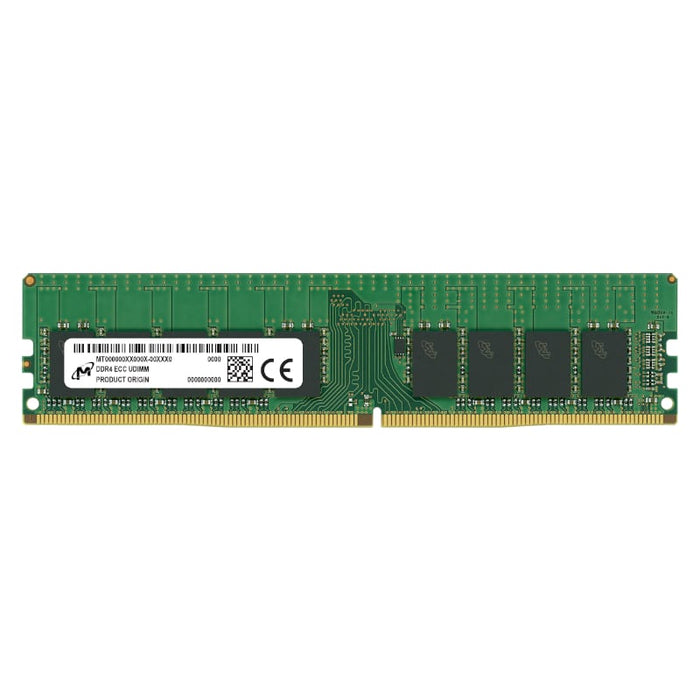 Micron 16GB DDR4 2666MHz ECC Unbuffered Dimm