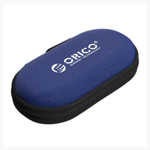 Orico Headset/Cable EVA case oval - Blue