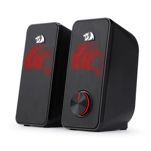 Redragon 2.0 Satellite Speakers 2x3W 3.5mm - Black