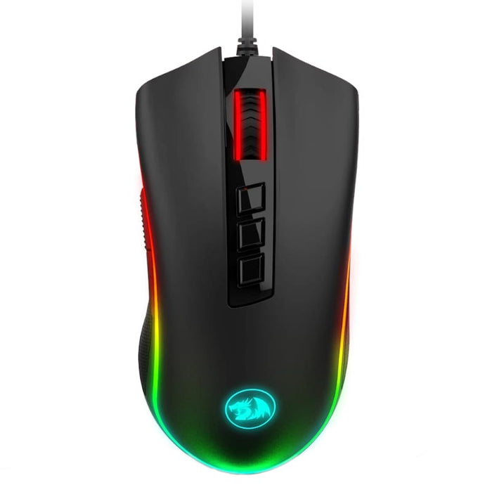 Redragon COBRA FPS 24000DPI RGB Gaming Mouse - Black