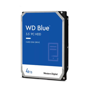 WD Blue 4TB 64MB 3.5 SATA HDD