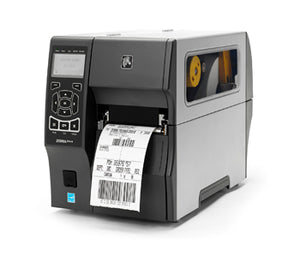 ZEBRA ZT410 printer - 4'', 203 dpi, Euro and UK cord, Serial, USB, 10/100 Ethernet, Bluetooth 2.1/MFi, USB Host, EZPL