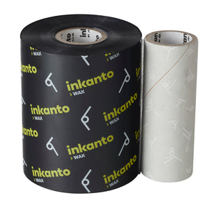 Inkanto AWXFH TT Ribbon 110 X 450 Wax CSO - 10 RIBBONS
