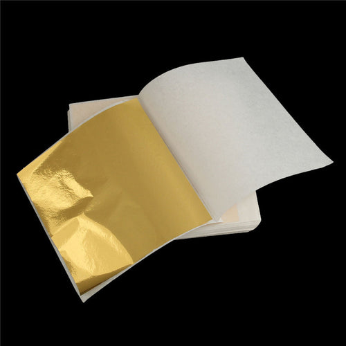 Gold Foil Sheets 100pcs