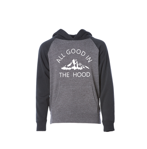 All Good In The Hood Toddler Hoodie - EYE Clothing Company