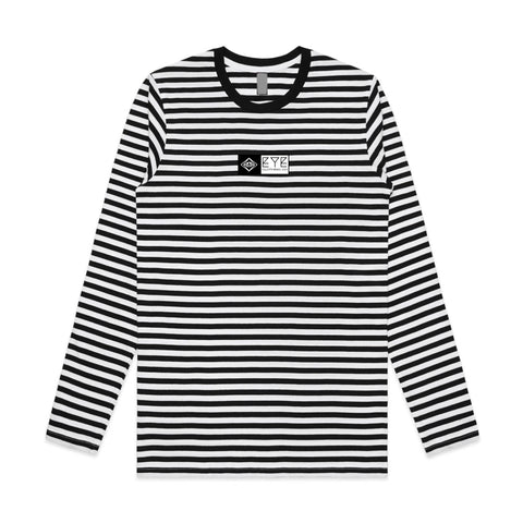 Banner Striped Longsleeve Tee