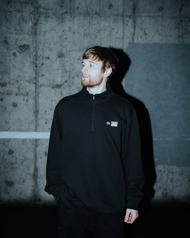 Banner 3/4 Zip Up - EYE Clothing Company