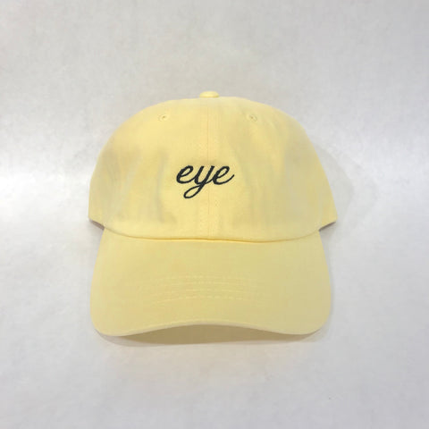 EYE Script Dad Hat - EYE Clothing Company