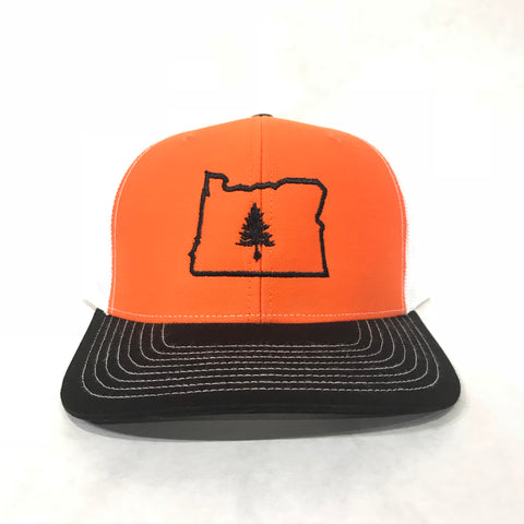 4EVERGREEN Oregon College Snapback - EYE Clothing Company