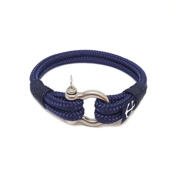 Bran Marion Dark Blue Nautical Bracelet