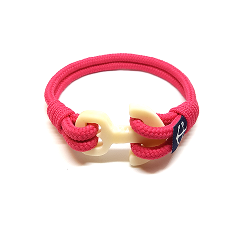 Pink Nautical Bracelet by Bran Marion