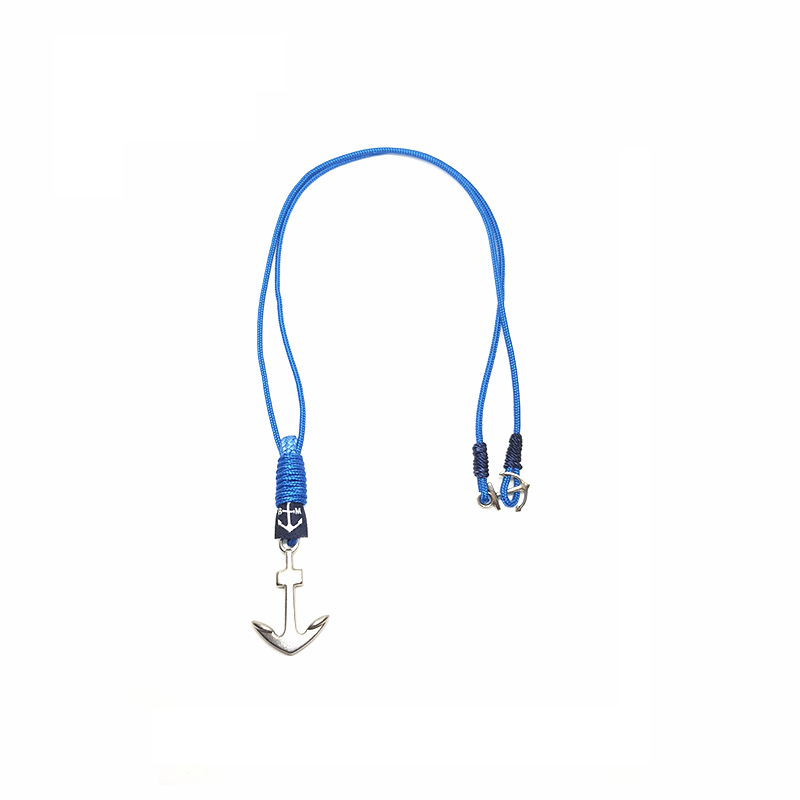 Collar Blue Anchor de Bran Marion