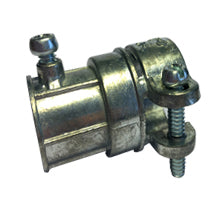 Couplings, Combination, Set Screw-Squeeze, EMT to FMC, Zinc