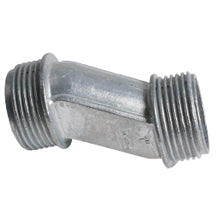 "Nipples, 3/4"" Offset, for RIGID/IMC, Zinc"