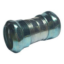 Couplings, Compression, Rain-tight, for EMT, Steel