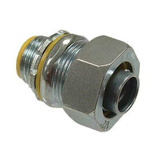 Liquid Tight Connectors, Straight, Steel & Malleable