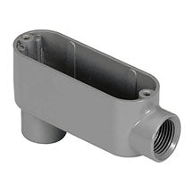 Conduit Body, RIGID/IMC, Type LB, Aluminum