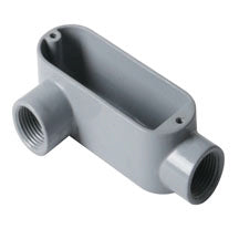 Conduit Body, RIGID/IMC, Type LR, Aluminum