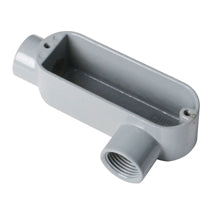 Conduit Bodies, RIGID/IMC, Type LL-Threaded, Aluminum