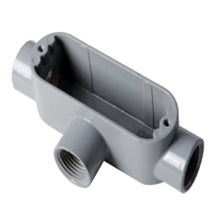 Conduit Bodies, RIGID/IMC, Type T-Threaded, Aluminum