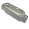 Conduit Body, EMT-RIGID, Type C, w/ Cover & Gasket, Aluminum