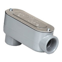 Conduit Bodies, RIGID/IMC, Type LB-Threaded,  with Cover & Gasket, Aluminum