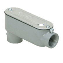 Conduit Bodies, Combination, for EMT & RIGID/IMC, Type LB with Cover & Gasket, Aluminum