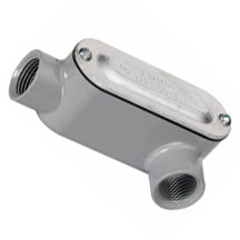 Conduit Bodies, RIGID/IMC, Type LL-Threaded, with Cover & Gasket, Aluminum