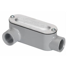 Conduit Bodies, RIGID/IMC, Type LR-Threaded, with Cover & Gasket, Aluminum