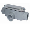Conduit Body, RIGID, Type T, w/Cover & Gasket, Aluminum