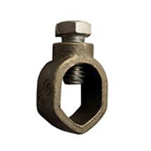 Ground Rod Clamps, for Direct Burial, Bronze