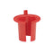 Bushings, Anti-Short, Non-Metallic, Red