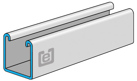 "eSTRUT™ Cold Form Strut Channel, 14 Gauge, 1-5/8"" x 1-5/8"""