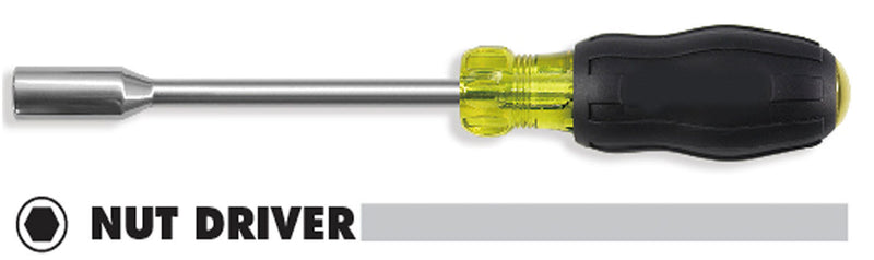 Nut Driver Set, with Cushioned Grip & Handle ID