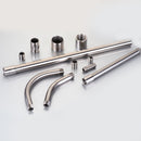 Liquid Tight Connectors, 45°, Stainless Steel