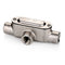Conduit Body, RIGID, Type T, w/Cover & Gasket, Stainless Steel