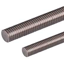 Threaded Rod, Continuous, Stainless Steel & Steel