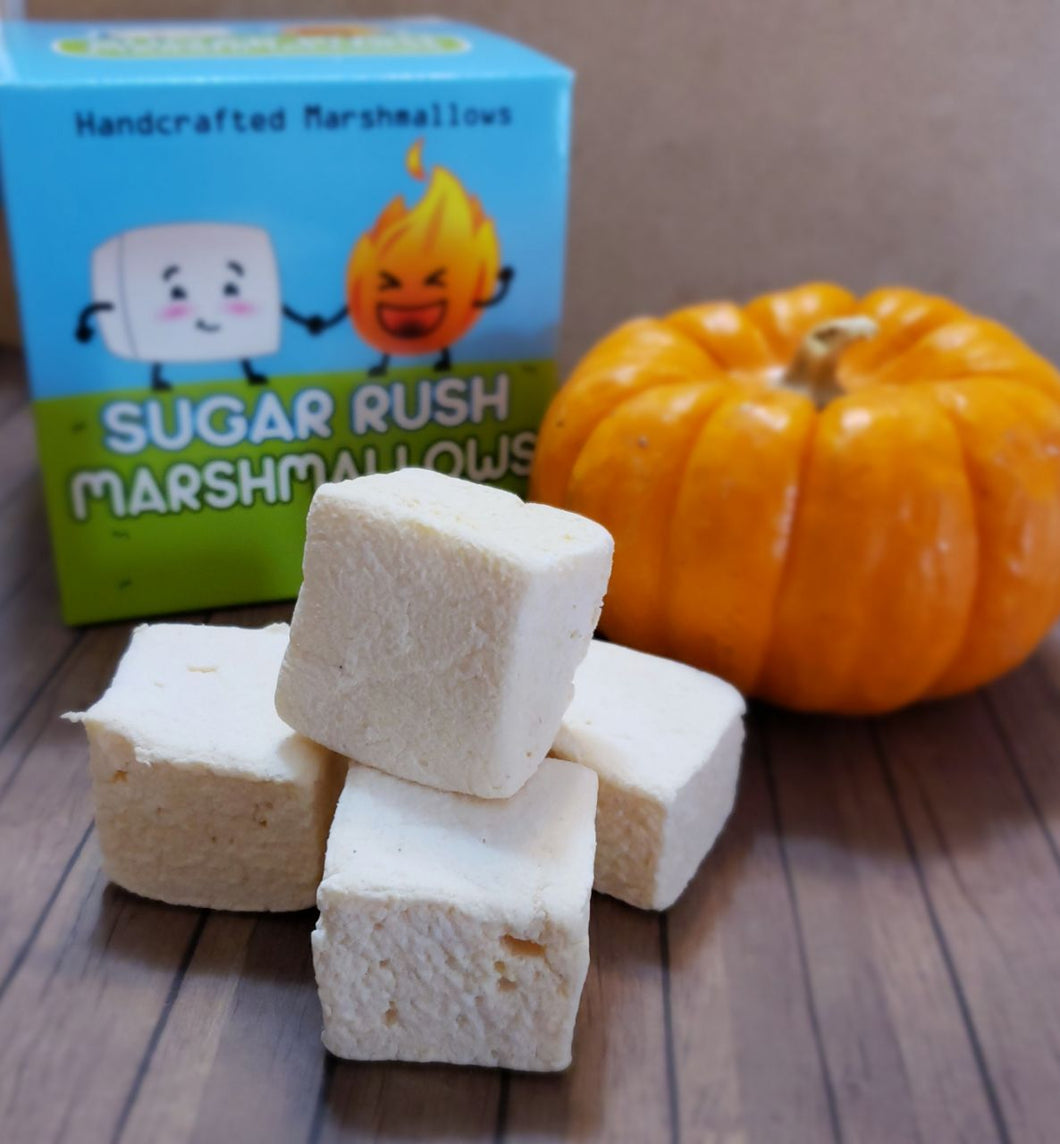 Spiced Pumpkin Marshmallows