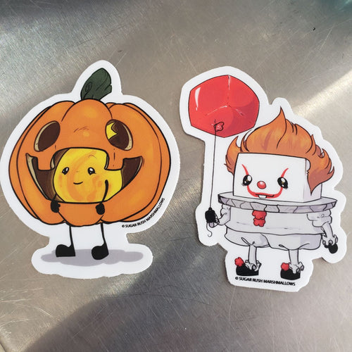 Malloween Sticker Duo