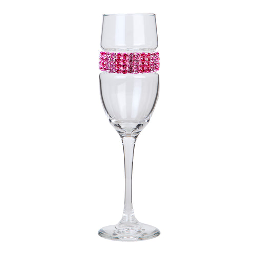 Pink Champagne Flute