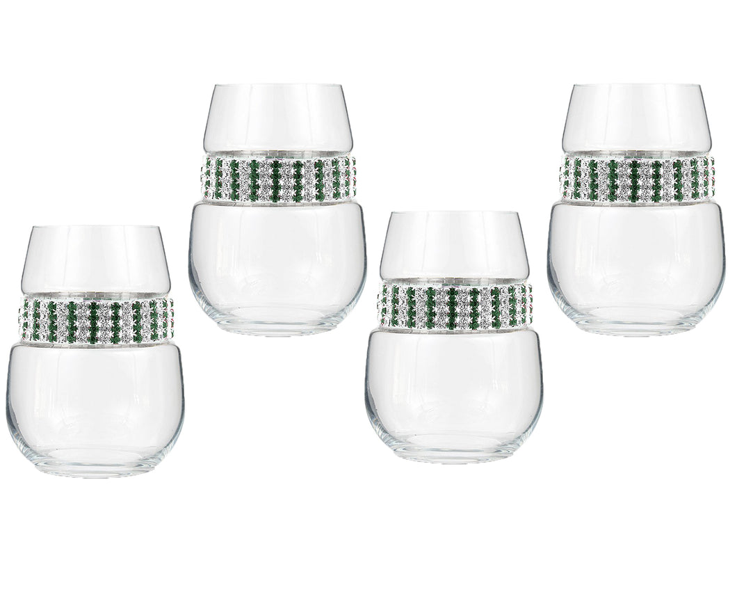 Emerald Stemless Party Pack (4)
