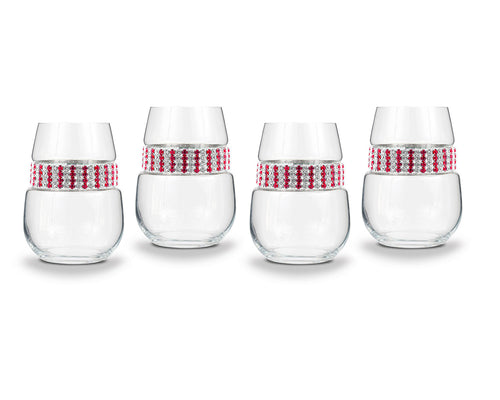 Ruby Stemless Party Pack (4)