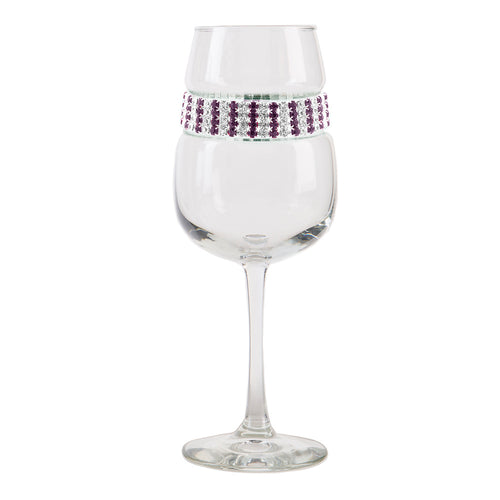 Amethyst Wine Glass | Wine Glasses | Shimmering Wines